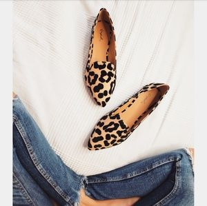 Shoes - 🆕️//The Lucia// leopard print flat